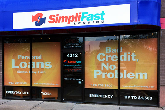 SimpliFast Lending Storefront